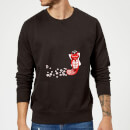 flower-fox-sweatshirt-black-m-schwarz