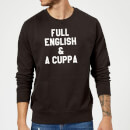 full-english-and-a-cuppa-sweatshirt-black-m-schwarz