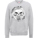 marvel-the-punisher-skull-badge-logo-manner-sweatshirt-grau-l-grau