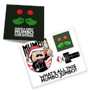 Mumbo card and sticker bundle