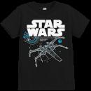 star-wars-die-letzten-jedi-the-last-jedi-x-wing-kinder-t-shirt-schwarz-9-10-years-schwarz