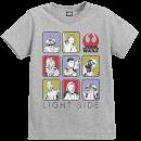 star-wars-the-last-jedi-light-side-kid-s-grey-t-shirt-9-10-years-grau