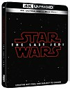 Star Wars: Los últimos Jedi 4K Ultra HD (incluye Blu-ray en 2D) - Steelbook Exclusivo de Zavvi Reino Unido -