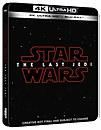 Star Wars: Los últimos Jedi 4K Ultra HD (incluye Blu-ray en 2D) - Steelbook Exclusivo de Zavvi Reino Unido -
