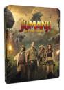 Jumanji: Bienvenidos a la Jungla - 4K Ultra HD (incluye versión 2D) - Steelbook Exclusivo de Zavvi Edición Limitada -