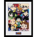 my-hero-academia-chibi-compilation-framed-photograph-12-x-16-inch