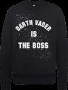 star-wars-darth-vader-is-the-boss-pullover-schwarz-m-schwarz
