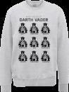 star-wars-many-faces-of-darth-vader-sweatshirt-grey-xl-grau