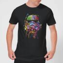 Star Wars Camiseta Star Wars Stormtrooper Pintura - Mujer - Negro - M - Negro Negro M