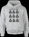 star-wars-many-faces-of-darth-vader-pullover-hoodie-grey-xl-grau, 21.99 EUR @ sowaswillichauch-de