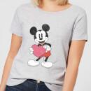 disney-mickey-mouse-heart-gift-frauen-t-shirt-grau-3xl-grau