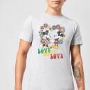 disney-mickey-mouse-hippie-love-t-shirt-grau-xxl-schwarz