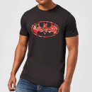 dc-comics-floral-batman-logo-t-shirt-schwarz-xxl-schwarz