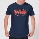 dc-comics-floral-batman-logo-t-shirt-navy-xxl-schwarz