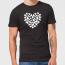 disney-mickey-mouse-heart-silhouette-t-shirt-schwarz-4xl-schwarz