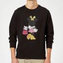 disney-mickey-mouse-minnie-mouse-back-pose-sweatshirt-grey-xxl-grau, 18.99 EUR @ sowaswillichauch-de