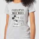 disney-mickey-mouse-retro-poster-wild-waves-frauen-t-shirt-grau-3xl-grau
