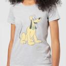 disney-mickey-mouse-pluto-sitting-frauen-t-shirt-grau-3xl-grau