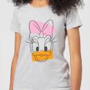 disney-mickey-mouse-daisy-duck-head-frauen-t-shirt-grau-3xl-grau