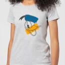 disney-mickey-mouse-donald-duck-head-frauen-t-shirt-grau-3xl-grau