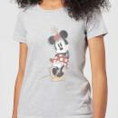 disney-mickey-mouse-minnie-offset-frauen-t-shirt-grau-5xl-grau, 17.49 EUR @ sowaswillichauch-de