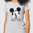disney-mickey-mouse-since-1928-frauen-t-shirt-grau-3xl-grau