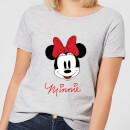 disney-mickey-mouse-minnie-face-frauen-t-shirt-grau-3xl-grau