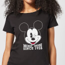 Disney Mickey Mouse Since 1928 Dames T-shirt - Zwart