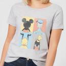 disney-mickey-mouse-donald-duck-mickey-mouse-pluto-goofy-tiles-frauen-t-shirt-grau-5xl-grau