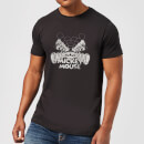 disney-mickey-mouse-mirrored-t-shirt-black-m-schwarz