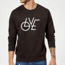 love-modern-pullover-schwarz-xl-schwarz
