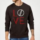 love-geo-pullover-schwarz-xxl-schwarz