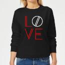 love-geo-women-s-sweatshirt-black-xxl-schwarz, 18.99 EUR @ sowaswillichauch-de