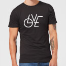 love-modern-t-shirt-black-xl-schwarz