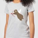sloth-cupid-women-s-t-shirt-grey-xs-grau