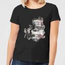 Camiseta Disney La Bella y la Bestia Happiness - Mujer - Negro - 3XL - Negro Negro XXXL