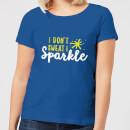 i-don-t-sweat-i-sparkle-women-s-t-shirt-royal-blue-m-royal-blue