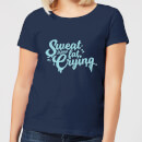 sweat-is-just-fat-crying-women-s-t-shirt-navy-xl-marineblau