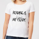 reading-is-my-escape-women-s-t-shirt-white-l-wei-, 17.99 EUR @ sowaswillichauch-de