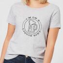 liquid-diet-beer-women-s-t-shirt-grey-l-grau, 17.99 EUR @ sowaswillichauch-de