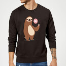 sloth-hi-sweatshirt-black-5xl-schwarz