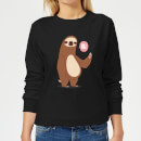 sloth-hi-women-s-sweatshirt-black-5xl-schwarz