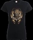 black-panther-gold-eril-frauen-t-shirt-schwarz-m-schwarz