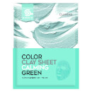 Look Fantastic International G9SKIN Color Clay Sheet - Calming Green 20g