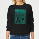 super-nintendo-entertainment-system-damen-pullover-schwarz-3xl-schwarz
