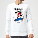 nintendo-super-mario-cardio-sweatshirt-white-m-wei-, 27.99 EUR @ sowaswillichauch-de