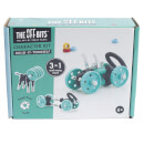 The Off Bits Robot Kit Green Car