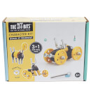 The Off Bits Robot Kit Yellow Car