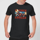marvel-deadpool-maximum-effort-t-shirt-schwarz-s-schwarz