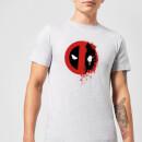 marvel-deadpool-split-splat-logo-t-shirt-grau-5xl-grau, 17.49 EUR @ sowaswillichauch-de